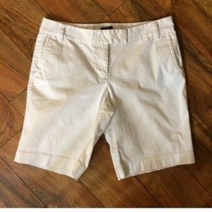 "J. Crew ""city fit"" shorts"